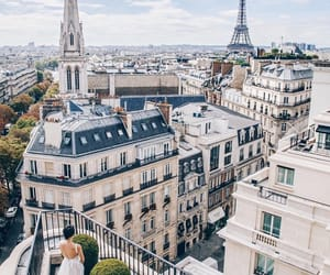 paris, building, and travel image