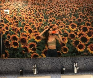 sunflower, bea miller, and flowers image
