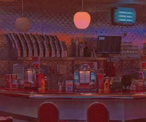 vintage, aesthetic, and diner image