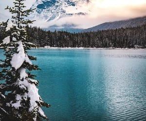 canada, lake, and landscape image