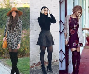autumn, boots, and clothes image