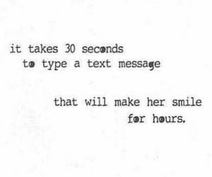 smile, girl, and text image