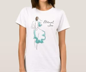 chic, funny, and t-shirt image