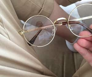 glasses, aesthetic, and soft image