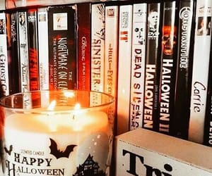 candle, autumn, and Halloween image