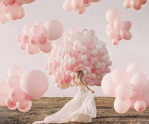 balloons, c, and dress image