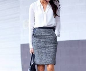 outfit, skirt, and fall outfit image