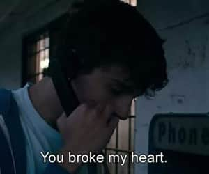 broke, broken, and heart image