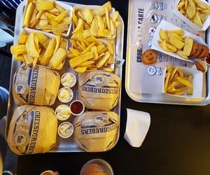 burgers, food, and ketchup image