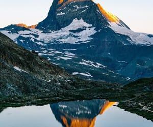 explore, hike, and lake image