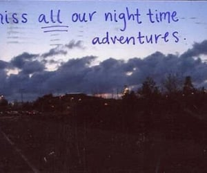 adventure, night, and quotes image