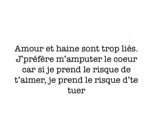 amour, couple, and triste image
