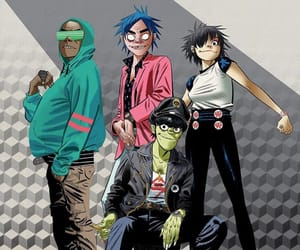 murdoc, noodle, and russel image