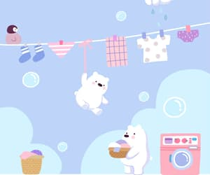 animals, baby, and background image
