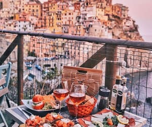 food, italy, and travel image