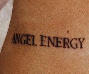beuty, tattoo, and ángel image