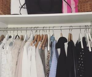 organized, wardrobe, and tidying image