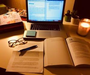 books, college, and homework image