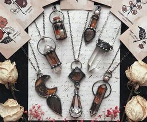 crystal, fantasy, and tarot cards image
