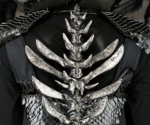 bones, dark, and dress image