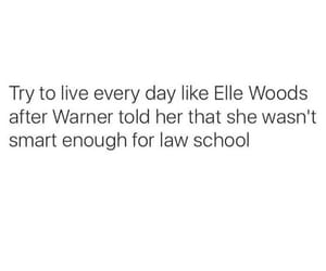 elle woods, quotes, and inspiration image