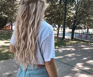 blonde, girl, and tumblr image