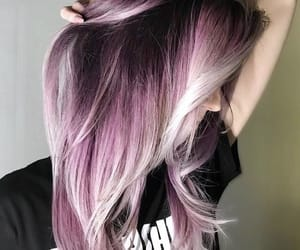 colored and hair image