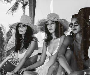 model, summer, and bella hadid image