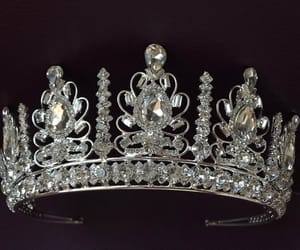 etsy, tiaras, and gold crown image