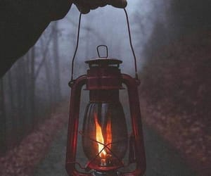 fall, autumn, and dark image