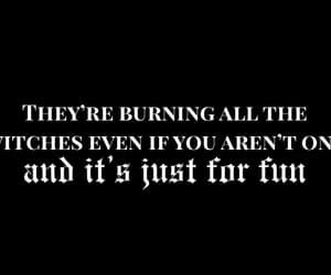 burning, Reputation, and Taylor Swift image