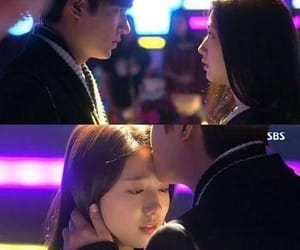 sweet, forehead kiss, and kdrama image