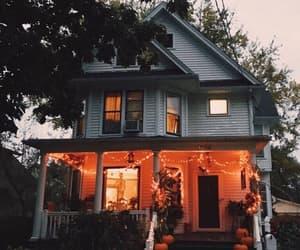 Halloween, house, and fall image