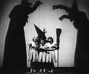 black & white, dark, and Halloween image