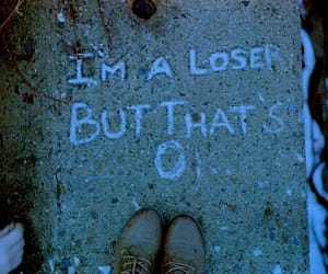 loser, sad, and grunge image