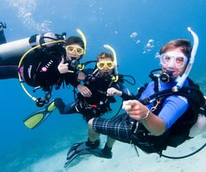 dive, diving, and scuba image