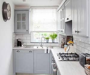 branca, cozinha, and decoração image