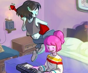 marceline, adventure time, and hora de aventura image