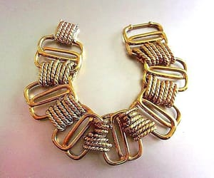 etsy, chain link bracelet, and chunky runway image
