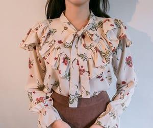 asian fashion, kfashion, and blouse image