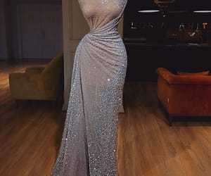 dress, sparkle, and style image