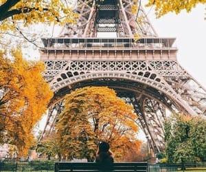 paris, autumn, and travel image