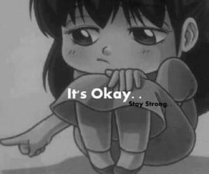 hurt, okay, and sad image