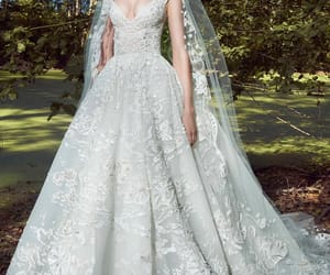 bridal, wedding, and Zuhair Murad image