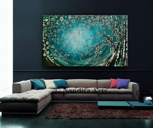 Abstract Painting, canvas, and contemporary image