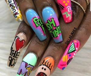 nails and 90s image