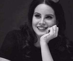lana del rey, smile, and beauty image