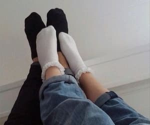 cool, couple, and legs image