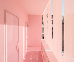 pink, aesthetic, and aesthetics image