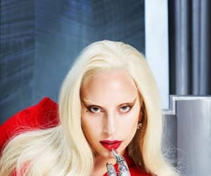 Lady gaga, new outtake, and ahs hotel image